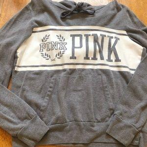 PINK hoodie very good cond size medium very nice